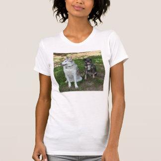 Catahoula and Ausky Dog Buddies T-Shirt