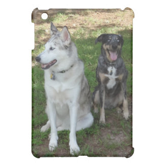 Catahoula and Ausky Dog Friendship iPad Mini Covers