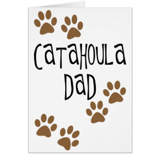 Catahoula Dad Card