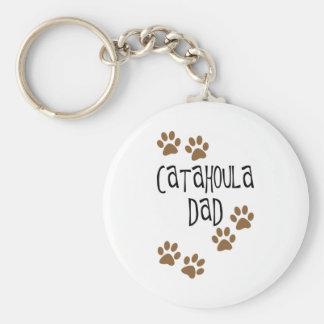 Catahoula Dad Keychain