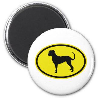 Catahoula Leopard Dog 2 Inch Round Magnet