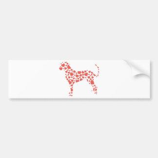 Catahoula Leopard Dog Bumper Sticker