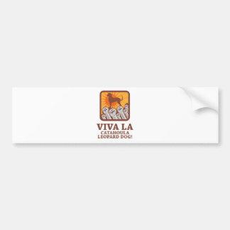 Catahoula Leopard Dog Car Bumper Sticker