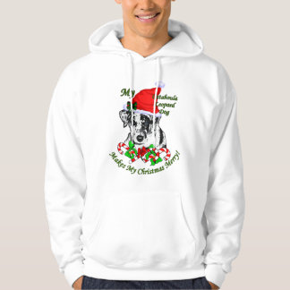 Catahoula Leopard Dog Christmas Gifts Hoodie