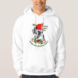 Catahoula Leopard Dog Christmas Gifts Hoodie