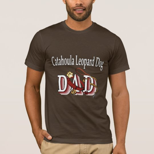 Catahoula Leopard Dog DAD Gifts T-Shirt