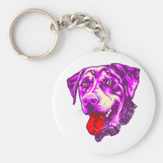 Catahoula Leopard Dog Keychain