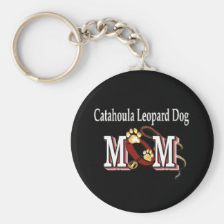 catahoula leopard dog mom Keychain