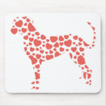 Catahoula Leopard Dog Mouse Pads