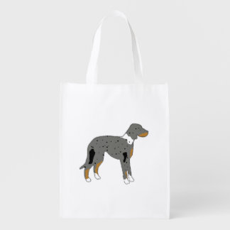 catahoula leopard dog silo color.png reusable grocery bag