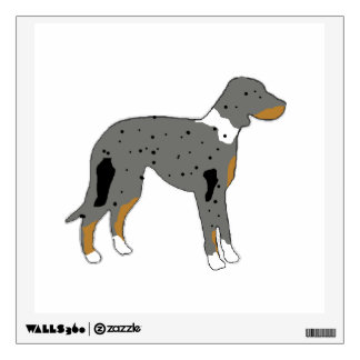 catahoula leopard dog silo color.png wall decal