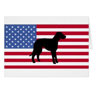 USA Themed catahoula leopard dog silo usa-flag.png card
