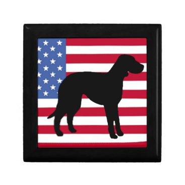 USA Themed catahoula leopard dog silo usa-flag.png jewelry box
