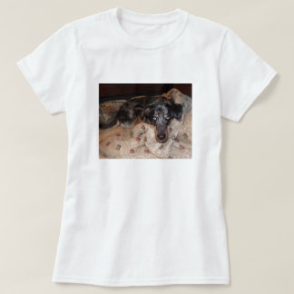 Catahoula Leopard Dog Snoozing T-Shirt