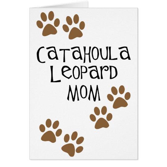 Catahoula Leopard Mom Card