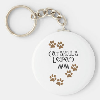 Catahoula Leopard Mom Keychain