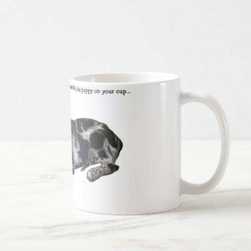 Catahoula Puppy Coffe Mug