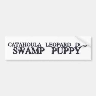 Catahoula Swamp Puppy Car Bumper Sticker