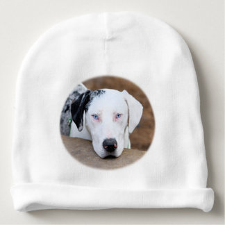 Catahoule Cur Puppy Face Baby Beanie