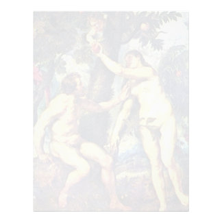 Català: L'Adam I L'Eva, Adán y Eva, por Rubens P Membrete A Diseño