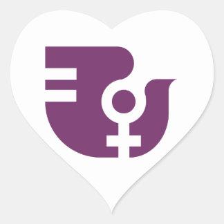 Catalan Associació of Dona Heart Sticker