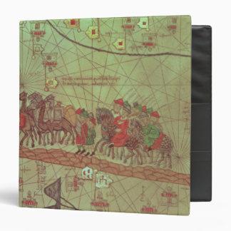 Catalan Atlas, detail showing Binder