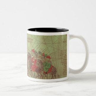 Catalan Atlas, detail showing Coffee Mug