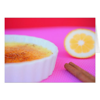 Catalan Creme Brulee Card