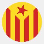 Catalan flag sticker