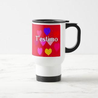 Catalan - I love you Travel Mug