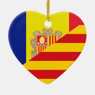 Catalan Language, hybrids Ceramic Ornament