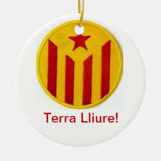 Catalan pro-independence decoration ornament