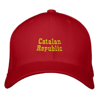 Catalan Republic Embroidered Baseball Cap