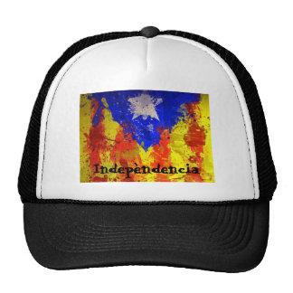 Catalan senyera trucker hat