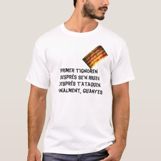 Catalan senyera T-Shirt