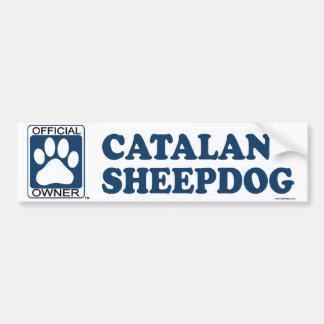 Catalan Sheepdog Blue Bumper Sticker