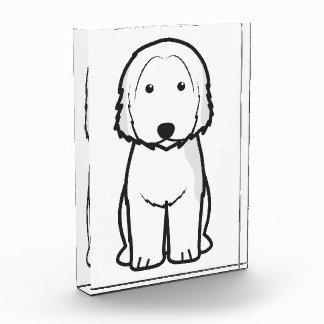 Catalan Sheepdog Dog Cartoon Acrylic Award
