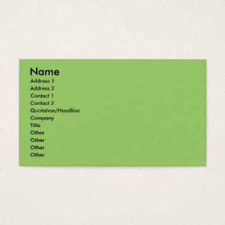 Catalan Sheepdog - Peppa Business Card