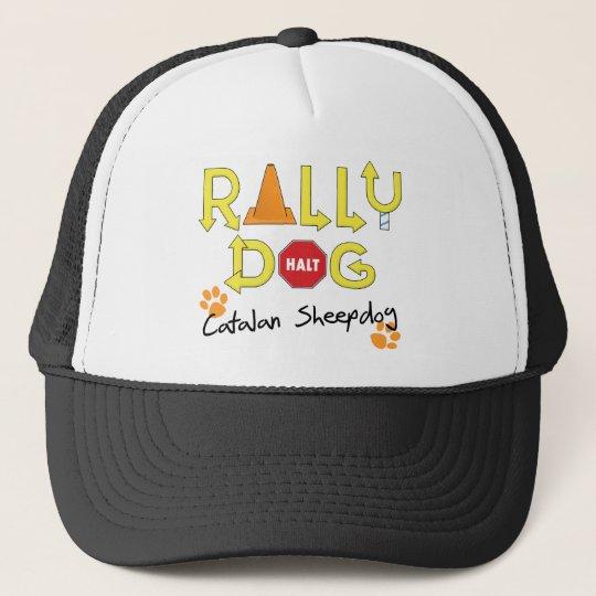 Catalan Sheepdog Rally Dog Trucker Hat