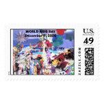 cataldicollage, WORLD AIDS DAYDecember 1, 2006 Stamp