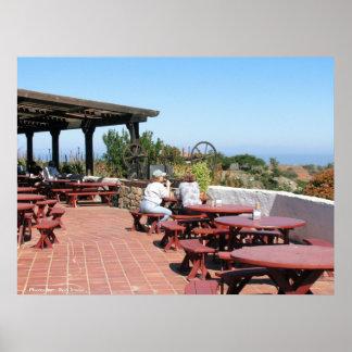 Catalina Airport Cafe Poster