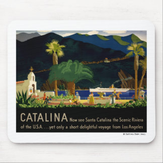 Catalina by Otis Shepard, c. 1935.  Mouse Pad