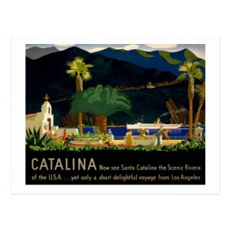Catalina by Otis Shepard, c. 1935.  Postcard