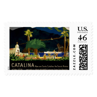 Catalina by Otis Shepard, c. 1935.  Stamps