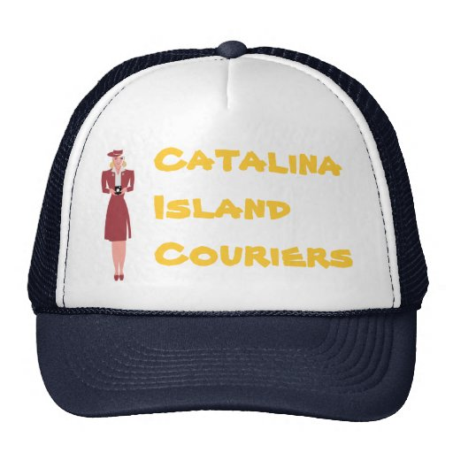 Catalina Courier Trucker Hat