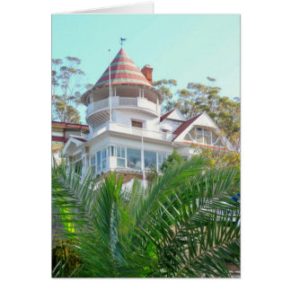Catalina Holly House 2 Greeting Card