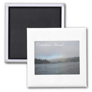 Catalina Island 2 Inch Square Magnet