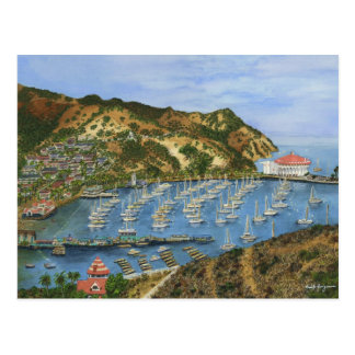 Catalina Island, CA - Mini Collectible Prints Post Cards