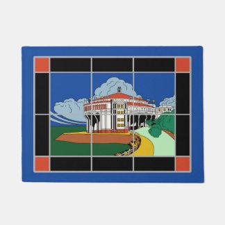Catalina Island Casino Tile Door Mat