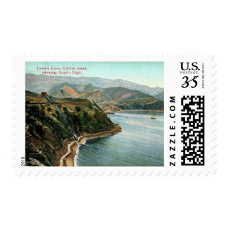 Catalina Island, Lover's Cove, California Vintage Postage